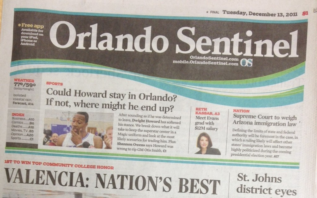 Orlando Sentinel Featured Story
