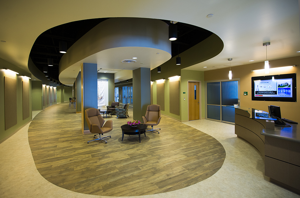 Collaborative Design Center lobby