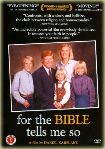 bible tells me so poster