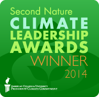 Second Nature Climate Award badget