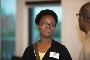 Bridges alumna Laury Toussaint