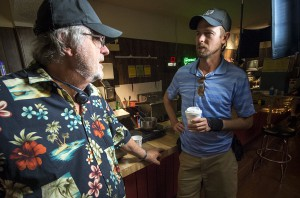 "Ralph Clemente (left) and son Parker collaborated on ""Heartbreak,"" a film shot in Orlando."