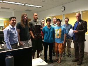 Valencia's programming team won first place for the third straight year.