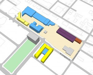 downtown campus design sketch
