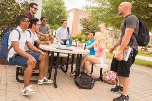 Valencia's engineering students get to know each other because of the small classes.