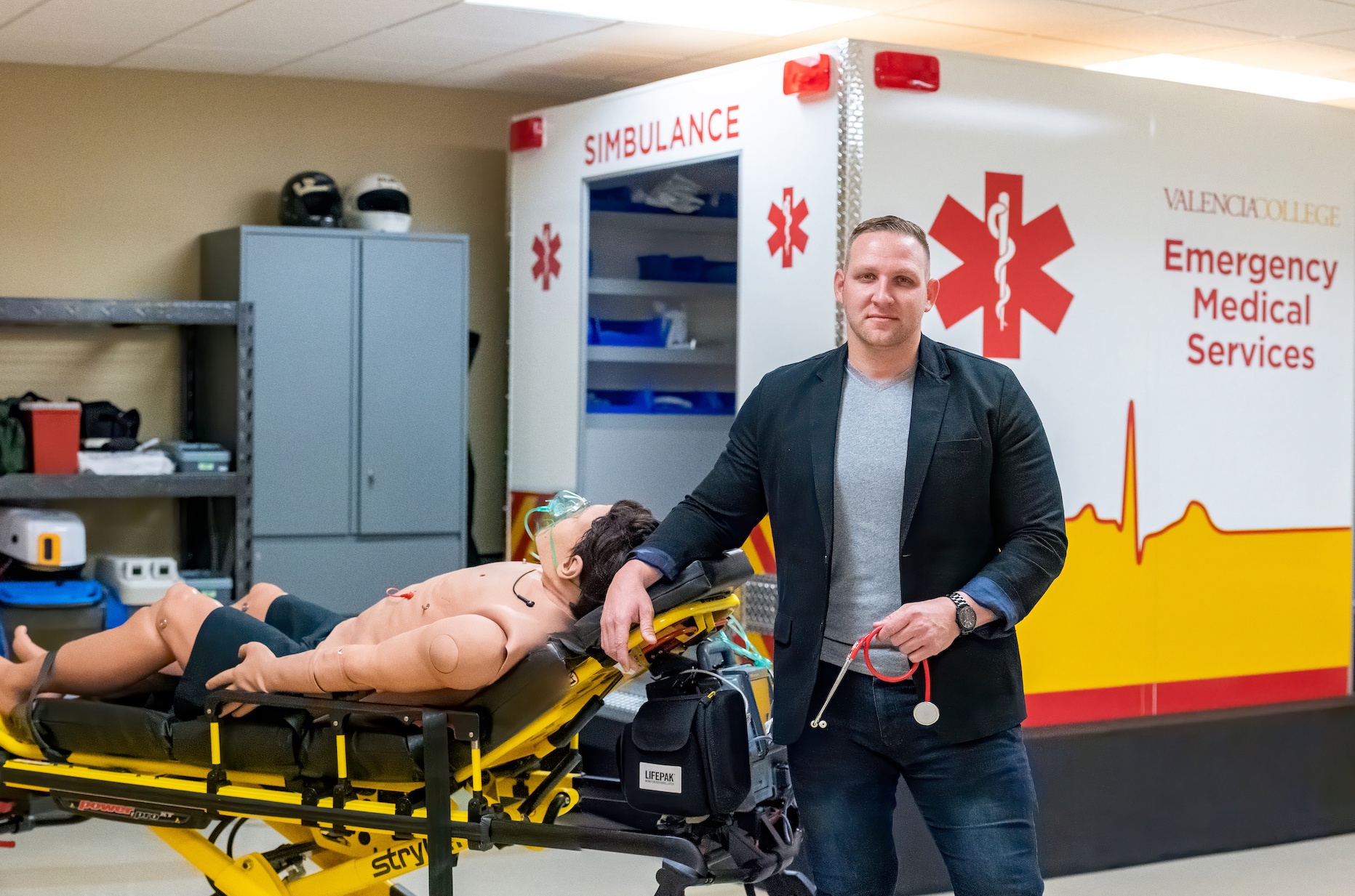 From firefighter to surgical resident, Warren Evans credits Valencia for sparking his love for learning