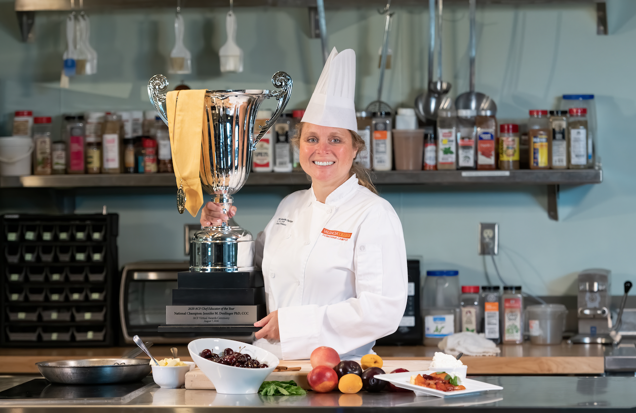 This Takes the Cake: Valencia Chef Named Nation's Top Culinary Educator